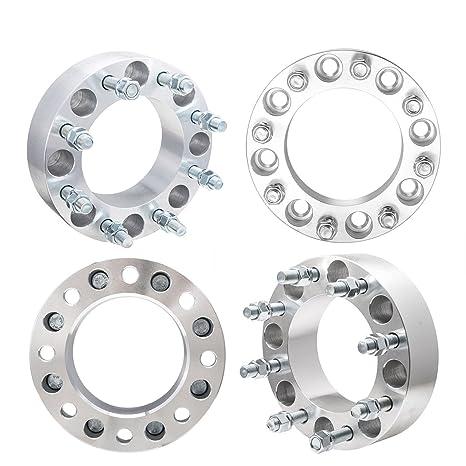 """4pcs 1 """"rueda espaciadores adaptadores 8 x 6,5 A 8 x 6"""
