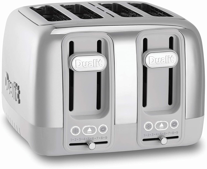Dualit 46631 Domus 4 Slice Toaster, Porcelain