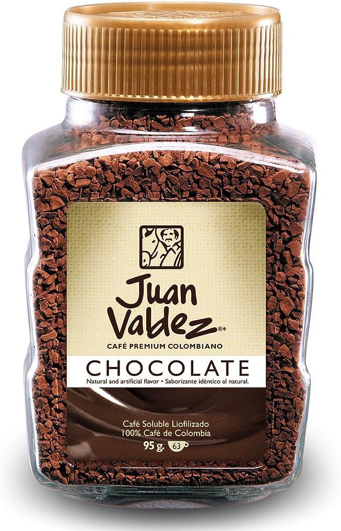 Juan Valdez, Café Con Sabor a Soluble Liofilizado, 100% Café ...