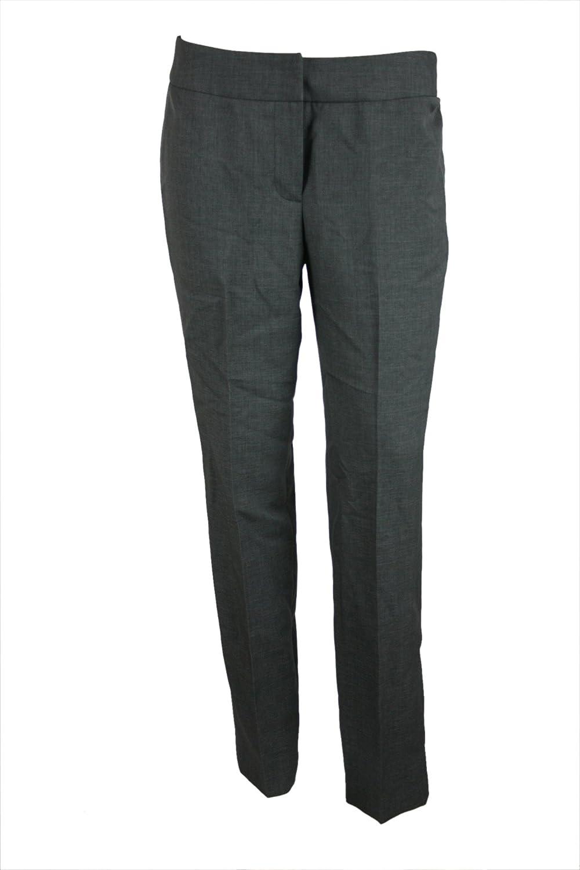 Nine West Womens Pleated Crop Suit Separates Pants