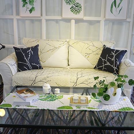 Nclon Funda para sofá Toalla de sofá Verano Delgado ...