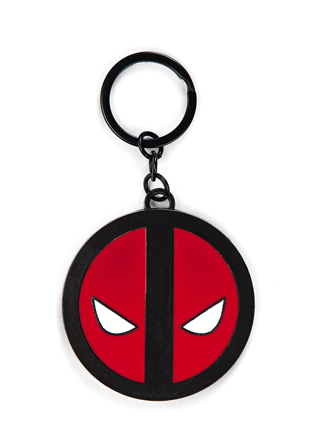 Marvel Deadpool Reverse Logo Llavero: Amazon.es: Juguetes y ...