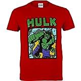 Marvel Comics Hulk Smash Camiseta de los Muchachos   mercancía Oficial   Edades 2-13, Ropa de los niños, Avengers Top de…
