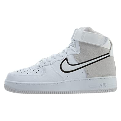 save off 782b3 a6f29 Amazon.com | Nike Men's Air Force 1 High '07 LV8 1 White ...
