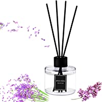 Reed Diffuser Set, Binca Vidou Lavender Reed Oil Diffusers for Bedroom Living Room Office Aromatherapy Oil for Gift Idea…