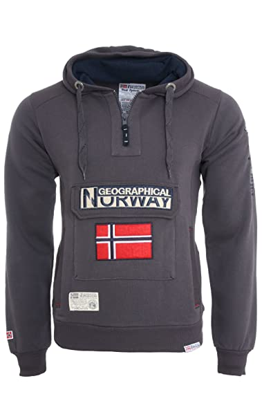 Geographical Norway – Sudadera Geographical Norway Gymclass gris gris S : Amazon.es: Ropa y accesorios