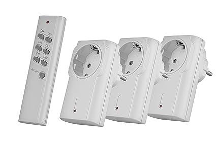 Trust Smart Home 71066 Trust APA3-1500R-Set conmutador de Luces y Dispositivos de