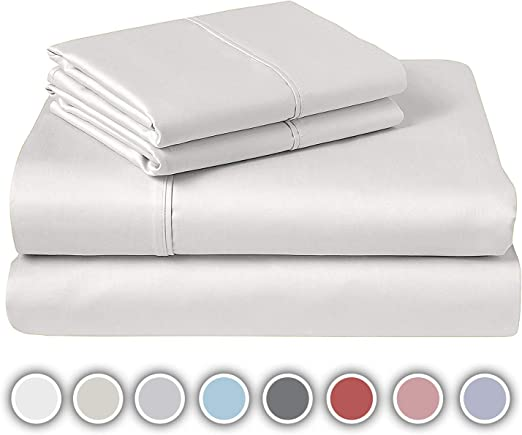 Luxury 100/% Egyptian Cotton 200 Thread Count Flat Sheet Single Double King SK
