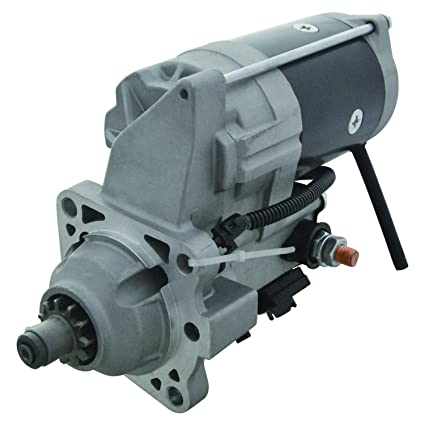 NEW STARTER FIT MOTOR JOHN DEERE ENGINE 6059 6068 6076 6414D//T 6466A//D//T RE52955