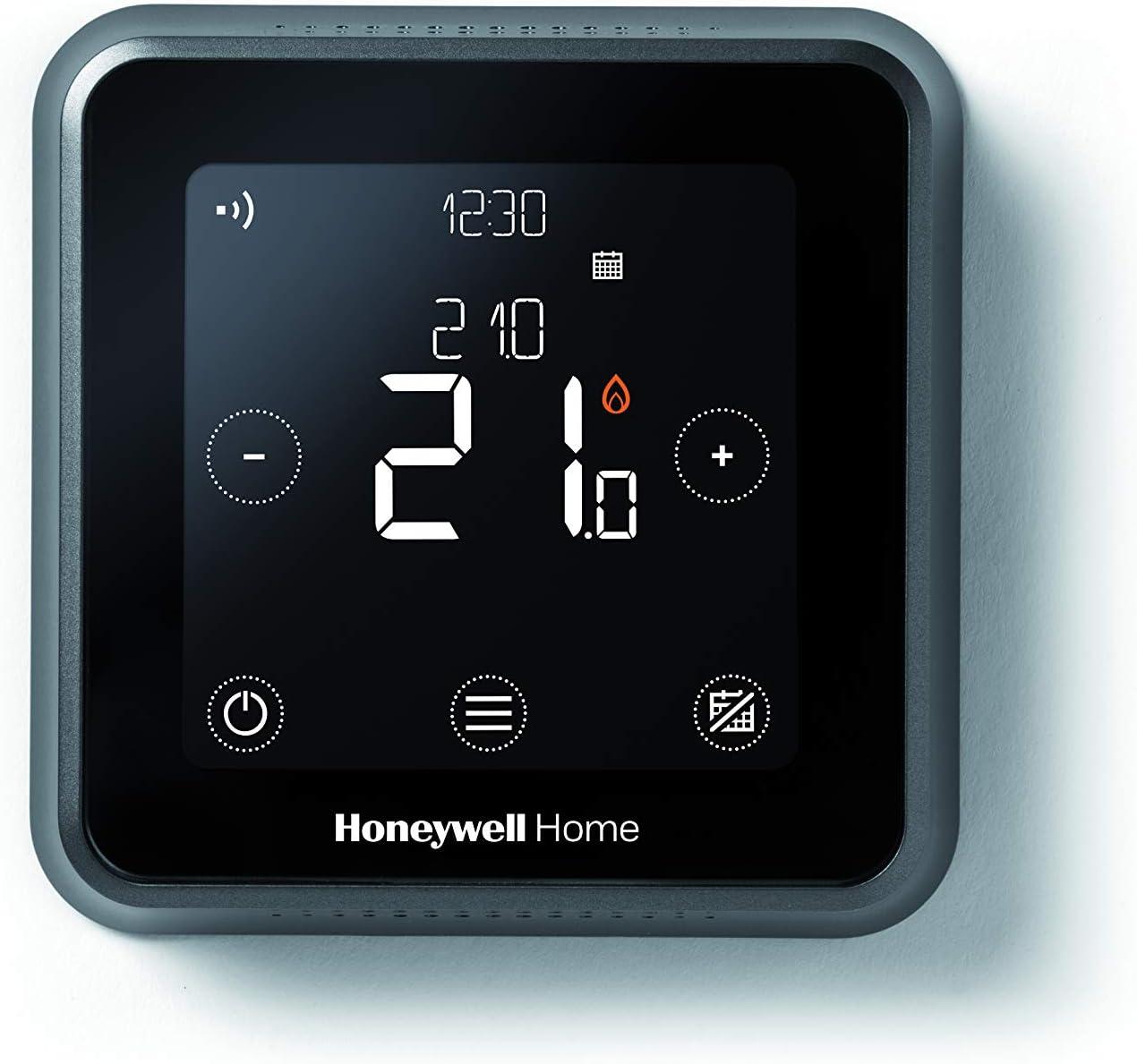 Honeywell Home Y6R910WF6042 Termostato programable Inteligente WiFi cableado T6, Montaje en Pared