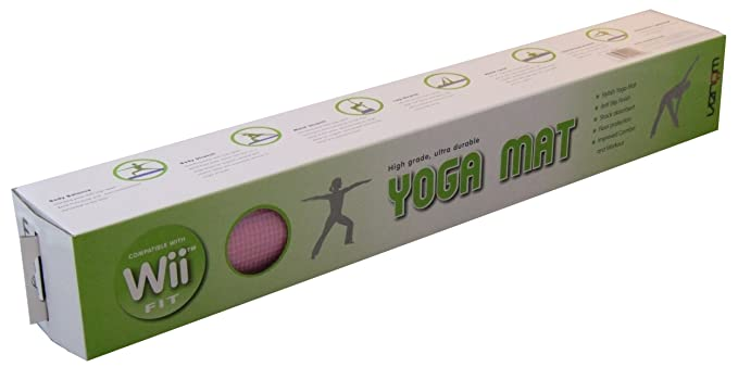 Venom Wii Fit Yoga Mat - Pink (Wii) [Importación inglesa ...
