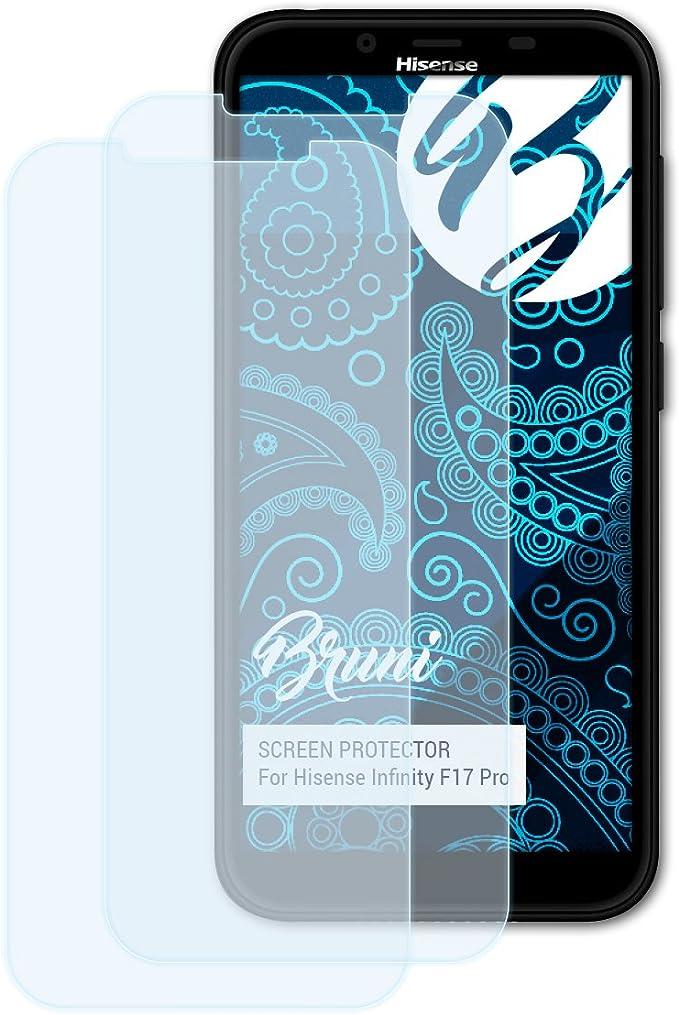Bruni Película Protectora Compatible con Hisense Infinity F17 Pro ...