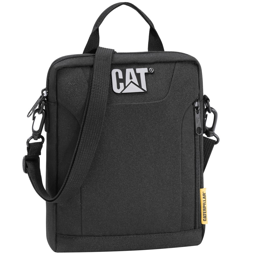 Caterpillar 83475 –  01 Cat Bandolera –  Cuadernon Tools, SW, Negro, L/B/H: 17, 5/4/22, 5, Volumen: 1, 6 L 6L 83475-01