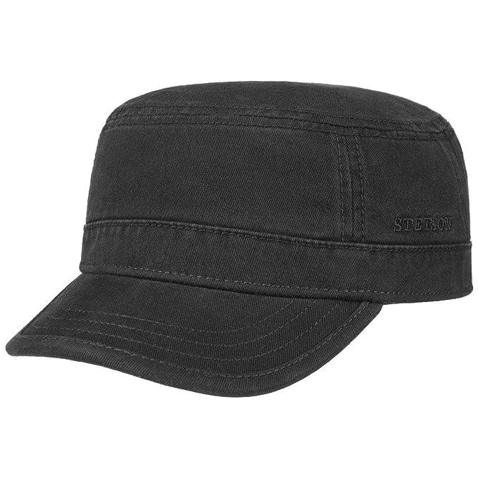 c230d08e Stetson Gosper Army Cap Women/Men | Urban hat with Peak, Closed Back Summer