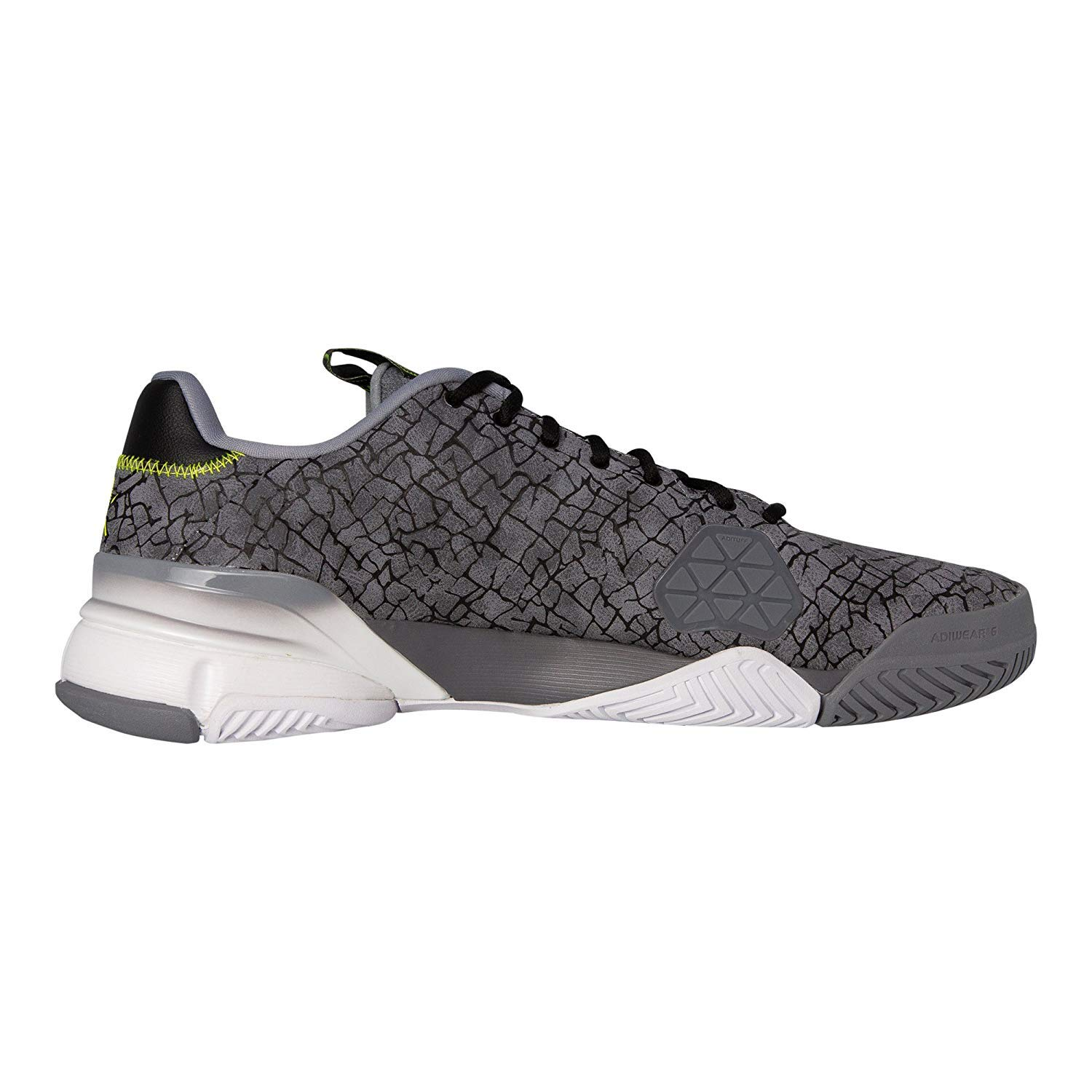 huge selection of acc9b 79071 Amazon.com   adidas Men s Barricade 2016 Boost Tennis Shoes, Grey Hannibal, 13.5  D(M) US   Tennis   Racquet Sports