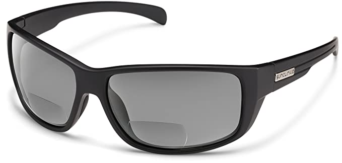Amazon.com: Suncloud Milestone polarizado anteojos bifocales ...