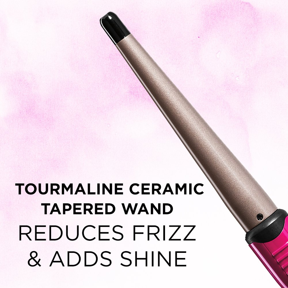 Infinitipro By Conair Tourmaline Ceramic Curling Wand 1
