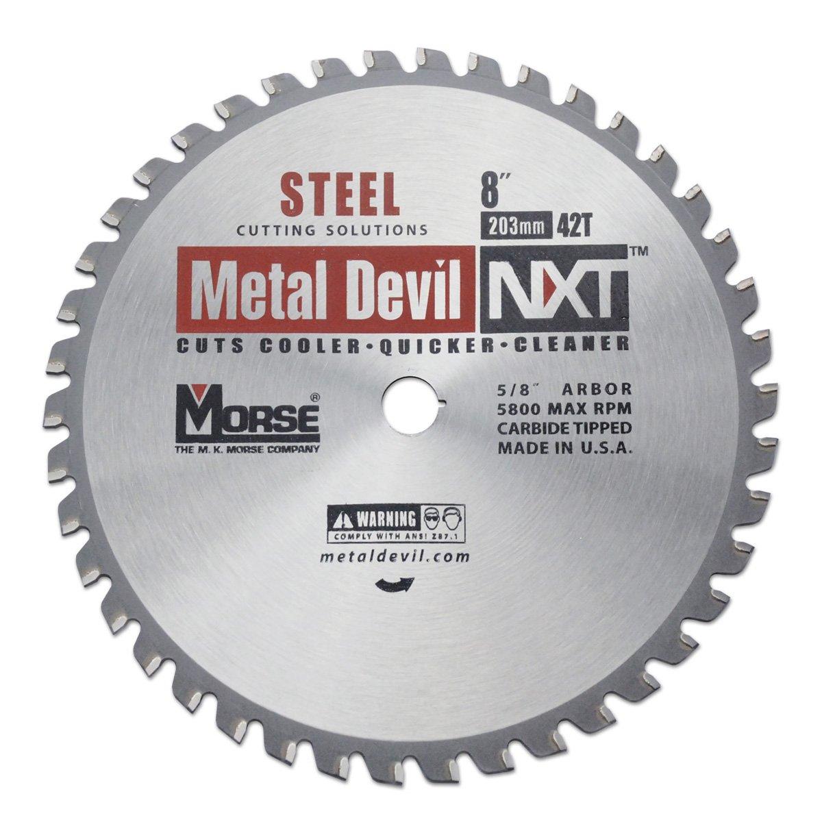 Disco Sierra MK MORSE CSM842NSC Metal Devil NXT 8i Diámetr