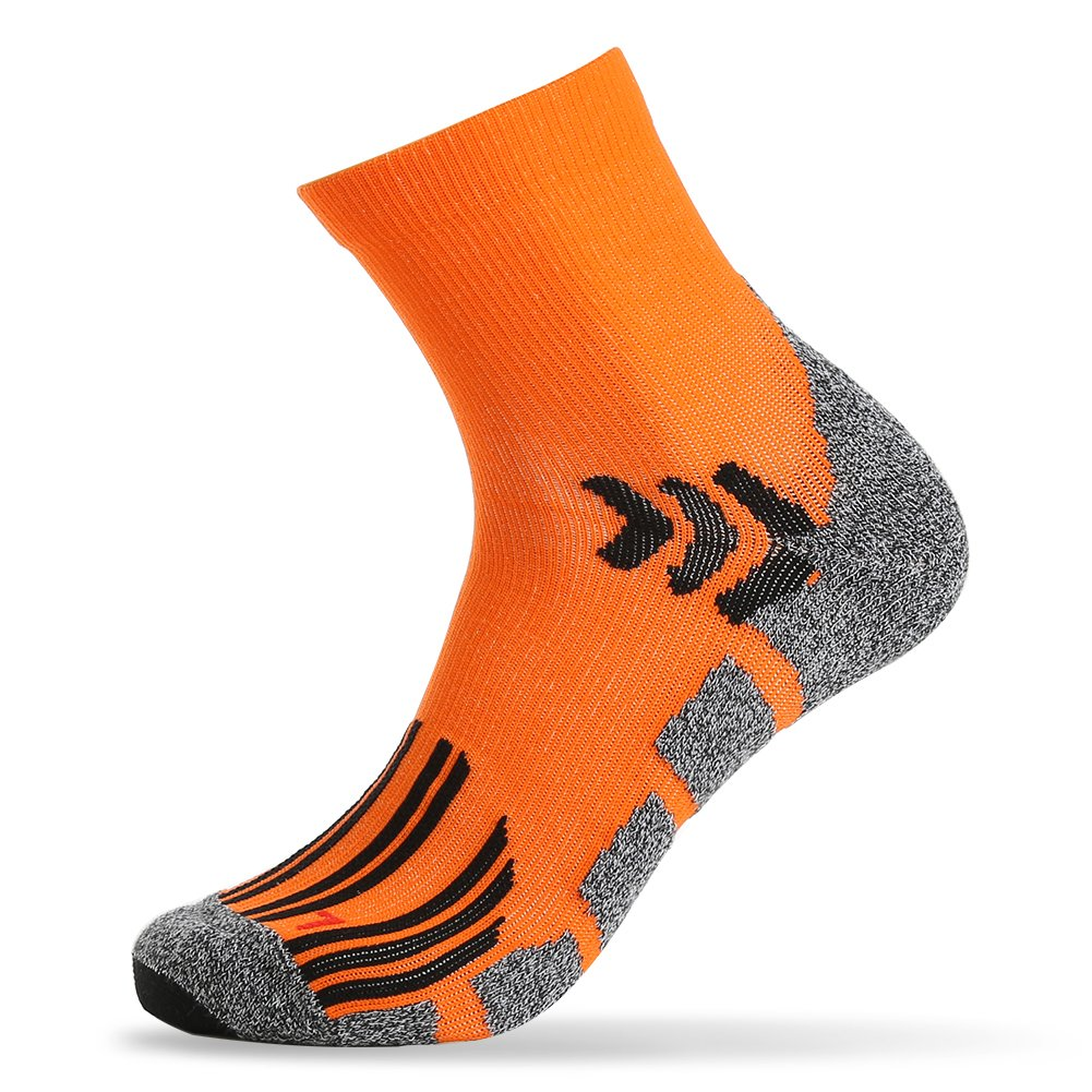 Men's Compression Athletic Crew Socks,Bonangel Sports Socks for Basketball,Cycling,Running,Hiking and More