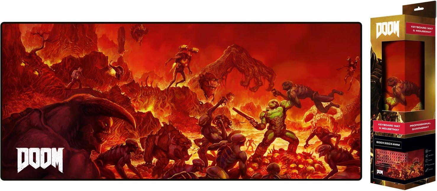 Vistoenpantalla Tapete de Escritorio Doom, Retro 80x35 cm: Amazon ...