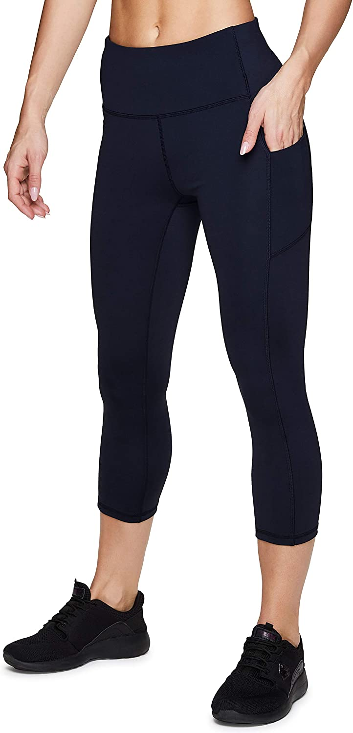 RBX Active Women's Squat Proof High Waist Capri/Ankle/Full Length Workout Running Yoga Leggings with Pockets