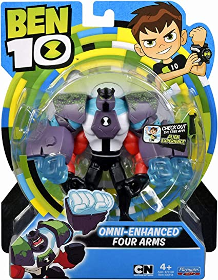 New Ben 10 Four Arms Action Figures toy Omnitrix
