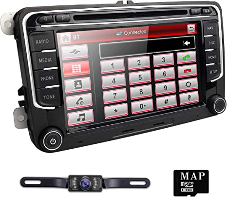 Amazon.com: Hizpo - Radio estéreo para Volkswagen VW Golf ...