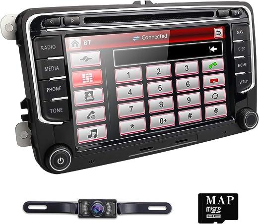 navihouse Tamaño de 2 DIN estéreo del Coche DVD GPS Nav Radio para ...