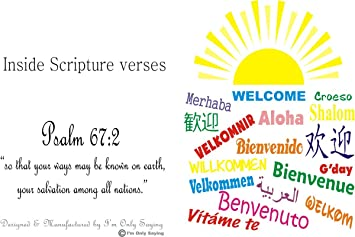 Welcome card for new members of a church for people from overseas welcome card for new members of a church for people from overseas all nations with sunshine m4hsunfo