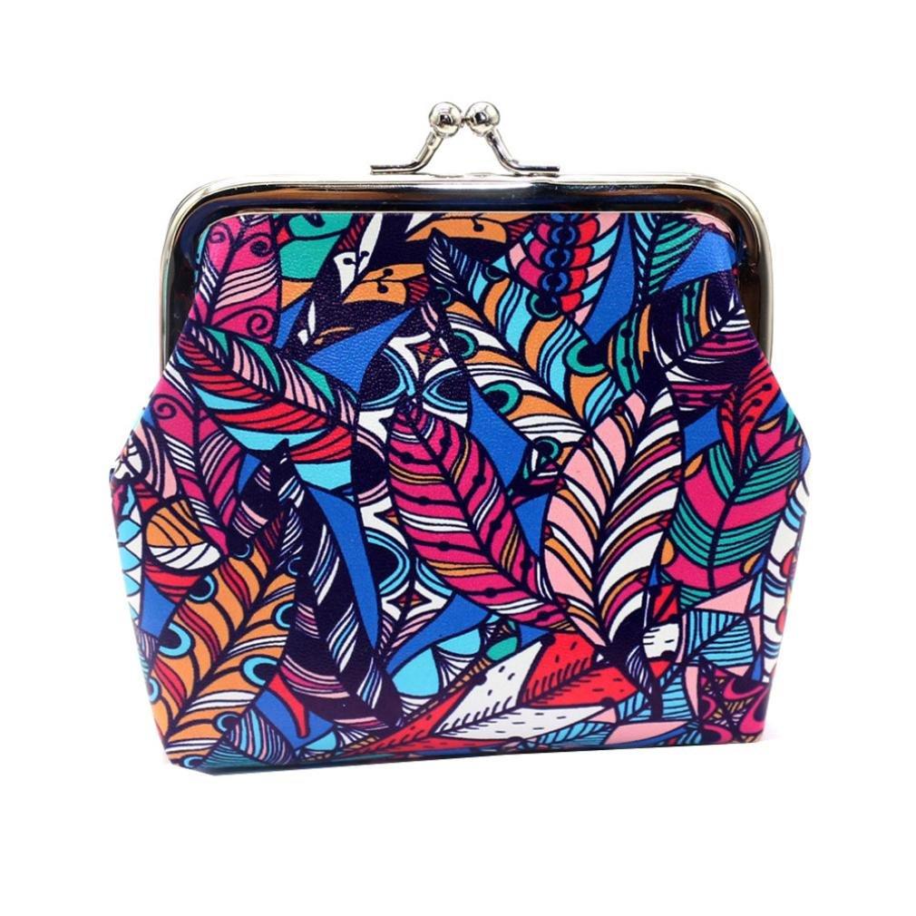 Kintaz Women New Fashion Flower Handbag Shoulder Bags Purse Messenger Bag (F)