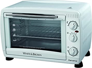White & Brown MF 285 - Horno tostador, 1500 W, 26 L, color