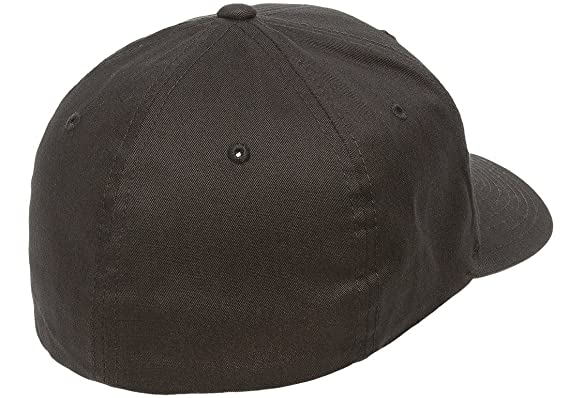c63cf6447e925 Flexfit Yupoong Cotton Twill Fitted Cap at Amazon Men s Clothing store