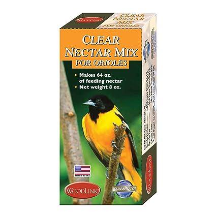 Amazoncom 8 Ounce Individual Box Oriole Nectar Orange Flavor