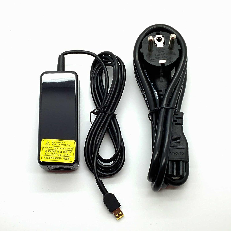 Adaptador Cargador Nuevo y Compatible con portátiles Lenovo Thinkpad Tablet10 Helix con Punta Rectangular Square Mini 7,4mm*2,8mm y 12v 3a del listado ...