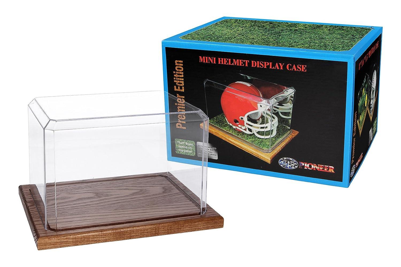 de Bonne qualit/é Base Noir Acrylique Pioneer Plastics vitrine de la Collecte et Le Stockage dune Balle de Softball avec Pad adh/ésif 3M