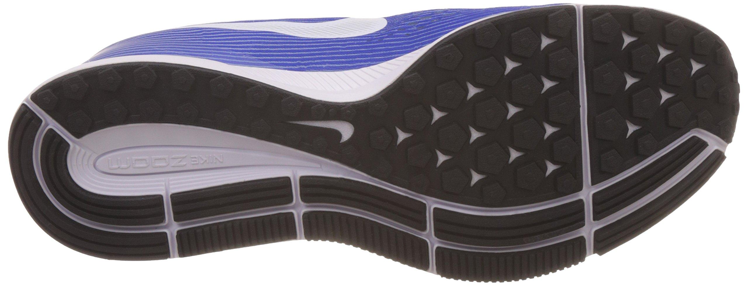 NIKE Mens Air Zoom Pegasus 34 Running Shoe (11 M US, Wolf Grey/White/Racer Blue) by Nike (Image #3)