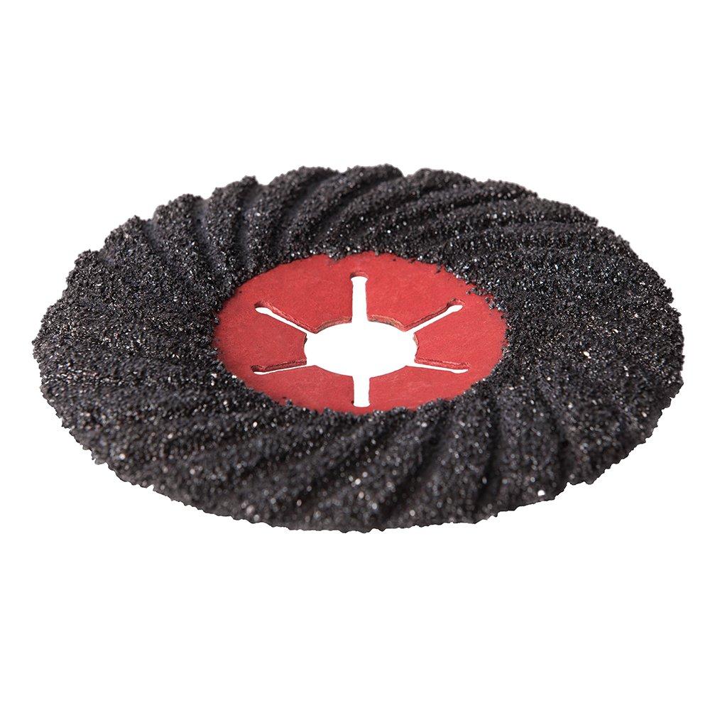 Silverline 424365 Disque abrasif semi-flexible 125 x 125 x 3 mm