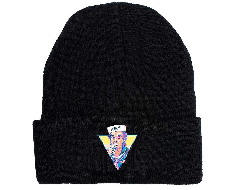 Stranger Things Cappello lavorato a maglia Cappello ricamato con logo in cotone Cappellino elastico Cappello invernale Cappello in peluche Cappello caldo commemorativo Cappello in lana per uomo Donna