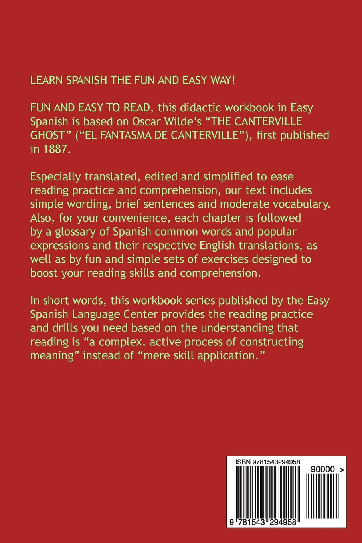 Workbooks spanish language workbooks : Buy The Canterville Ghost: Easy Spanish Short Novels for Beginners ...