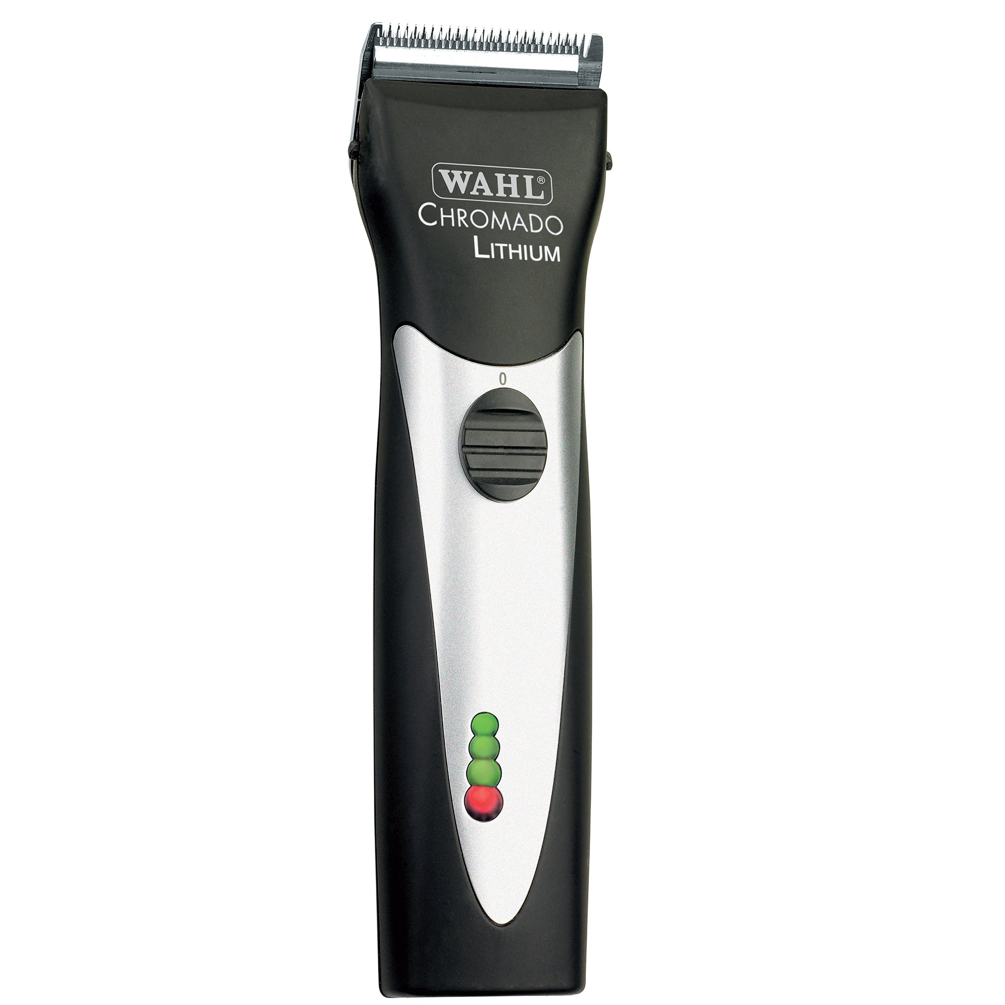 Wahl Professional Animal Chromado Lithium Pet, Dog, Cat, and Horse Corded / Cordless Clipper Kit, Black & Silver (#41871-0434) by Wahl Professional Animal