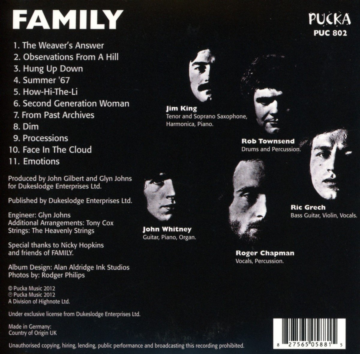 Family Entertainment By Amazoncouk Music