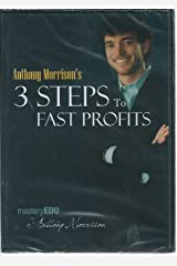 3 Steps to Fast Profits (Mastery EDU by Anthony Morrison) DVD-ROM