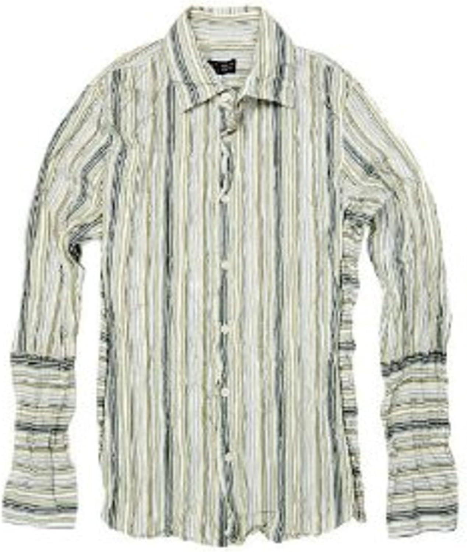 Armani Jeans Camisa Hombre Diseñador Camisa Manga Larga ...