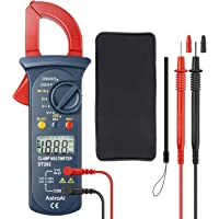AstroAI Pinza Amperimétrica Profesional RMS, Multímetro Digital Automático