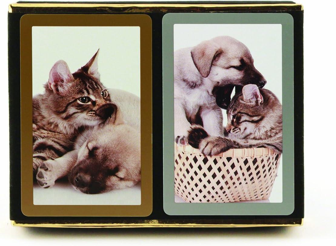 CONGRESS CAT /& DOG JUMBO INDEX PLAYING CARD DECK NEW