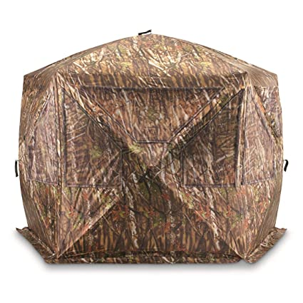 amazon com guide gear 5 sided ground hunting blind sports outdoors