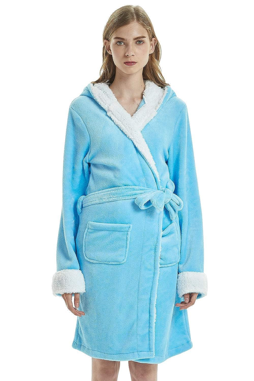 Soft Molleton Kigurumi Cartoon Chemises de Nuit Robe Peignoir Robe Kimono de Nuit de Demoiselle dhonneur Pyjamas Dolamen Peignoir de Bain pour Femme et Homme Sweat /à Capuche