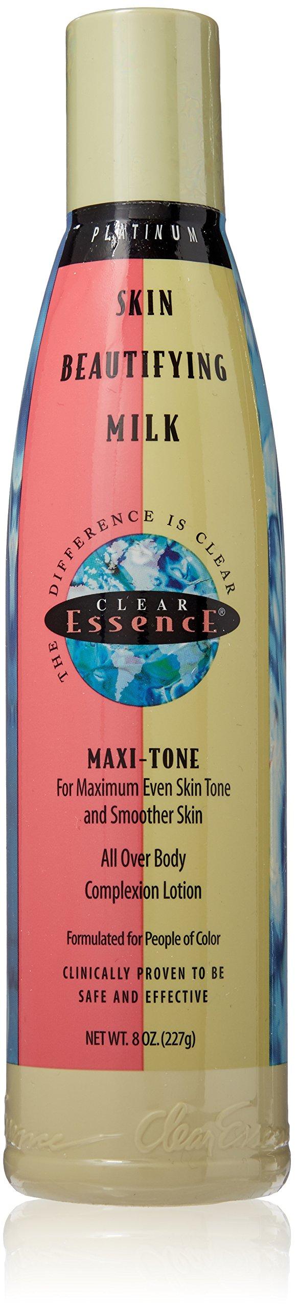 Clear Essence Platinum Line Skin Beautifying Milk, 8 Ounce