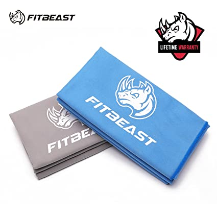 a04cdc627a Amazon.com   Microfiber Towel for Camping FitBeast Quick Dry Towel ...