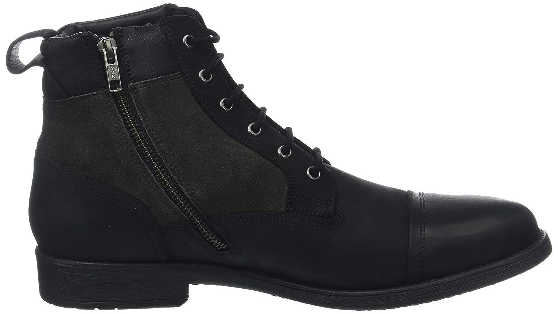 Geox Herren U Jaylon E C9999) Klassische Stiefel, Schwarz (Black C9999) E fcb252